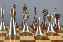 diseño de fichas ajedrez