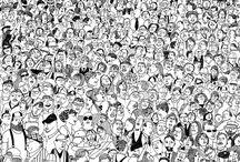 illustration crowd