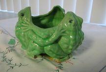 Frosch-Vasen