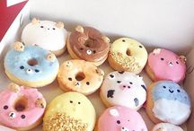 The yummy donuts