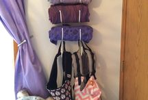 Babycarrier Storage Ideas