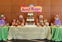 Candy Shoppe Candy Table / Candy Shoppe Candy Table - Corporate Event