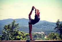 yoga / inspiration and and goals such / by Jill Bot