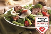 Heart-Healthy Recipes / Enjoying lean beef in a heart-healthy lifestyle is easier than you think with these recipes featuring lean beef, fresh fruit, vegetables, and whole grains