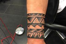Tatto Maori Bracelete