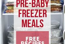 Before baby freezer meals!