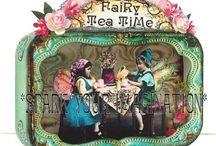 Captured Fairy Tin