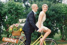 Rowerowy ślub - inspiracje