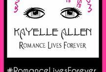 Kayelle Allen / I am interning for Sci Fi Romance author Kayelle Allen