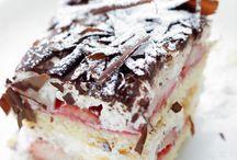 Strawberrie stratiatello cake