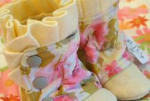 #Sewing - Baby - Booties