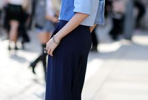 Denim streetstyle at London Fashion Week
