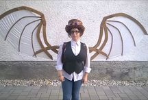 steampunk wings / Steampunk wings FOR SALE. Desingned and created by me.
