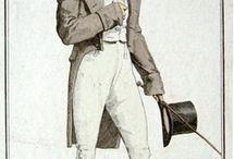 empire costume homme / empirowa moda męska