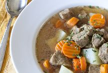 Soups / Soups and stews