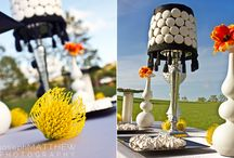 Wedding Trends:  1960's Mod Inspiration / One trend in wedding themes for 2013 is a 1960′s mod wedding!  Think bold splashes of color and geometric prints to name just a few of the decor elements.  As with many wedding trends they come and go throughout the years.