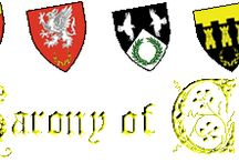 Barony of Caerthe / This board represents the official presences of the Barony, its Cantons and Colleges, and its Guilds.