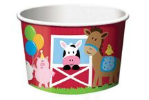 Treat and Dessert Cups  / The perfect little treat cups for Ice Cream, Snacks and Desserts.