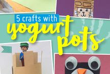 Easy crafts for kids / Keep your little ones entertained with these easy craft ideas.