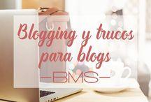 BLOGGING Y TRUCOS PARA BLOGS / Aquí puedes encontrar trucos, tutoriales y mucha información sobre blogging, desde cómo poner tu blog aún más bonito, hasta programación y difusión en redes.  Mucho por aprender para mejorar tu blog, y mucho por pinear si te gusta!