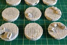 Figurines : Socles / Regroupement de créations de socles pour figurine de jeu.