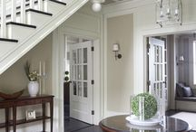 New England home style and interior