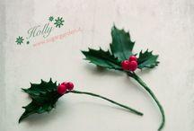 Gum paste Christmas