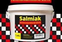 Salmiak (Ammoniumklorid) / Salmiak (Ammoniumklorid) av lisvmedelskvalitet. Till allt från godis till rengöring av livsmedelsutrustning. Ger styrkan i turkisk peppar godis och förstärker lakritssmak och salt lakrits. Prova i hemgodis.