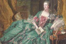 Madame de Pompadour / Official mistress of Louis XV.