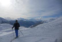 Glorious powder / Riederalp, Bettmeralp, Aletsch Glacier even chamois on 18 January 2015