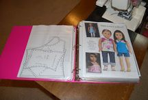 Sewing A-Girl Clothes Patterns / by Bonnie Parsons