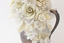 Beaded Wedding Bouquets