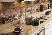 Лофт кухня гостиная