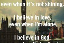Because I believe!
