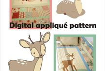 appliqué patterns by Love Colors