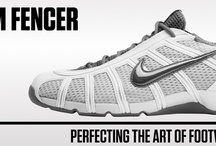 Nike Fencing / Perfecting the art of footwork.