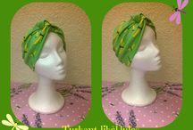 Turbantes divertidos colores de primavera