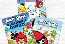 Libros Angry Birds / ¿Has visto #AngryBirdsLaPelicula? ¡No te pierdas sus libros! Haz actividades, aprende a dibujarlos, ¡los tenemos todos! #AngryBirds