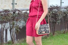 Dress strappy / Vestido magenta