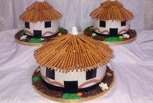 Wedding cakes at Aunty Fad's Kitchen / Wedding cakes done by Aunty Fad's Kitchen