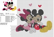 Valentine's Day cross stitch patterns / Valentine's Day free cross stitch patterns.