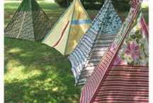 Forts and teepee havens / by Lara Blair