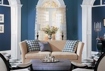 Home- blue and white ideas / by Wanda Caro