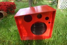 Nuestras casitas. / Design Online store for pets www.nuukhome.com doggy houses