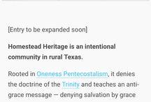 Homestead Heritage Cult