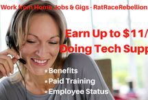 Work from Home Tech Support Jobs