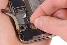 Sustitución del conector dock del iPhone 4S / Para sustituir el conector dock de iPhone 4s, siga los pasos siguientes.
