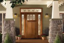 Front door/foyer ideas / by Pam York-Mietus