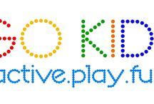 Go KIDS active.play.fun / Go KIDS jest miejscem do zabawy z zorganizowanym programem ćwiczeń.  Go Kids ma na celu promowanie zdrowego stylu życia.