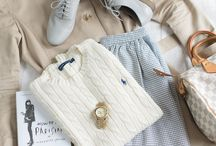 Fashion: style preppy french
